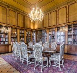 Palais Schönburg Beletage Bibliothek