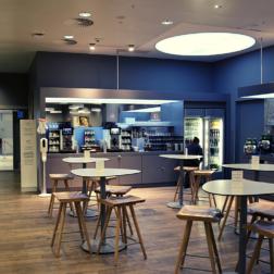 AUA Lounge am Flughafen Wien - Frühstück, Eierspeise