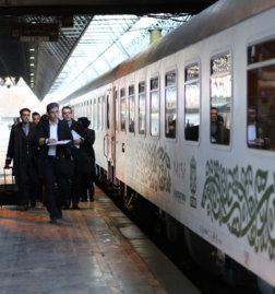 Fadak-Trains-Iran-Bahnsteig-