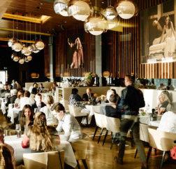 Das Anton volles Restaurant