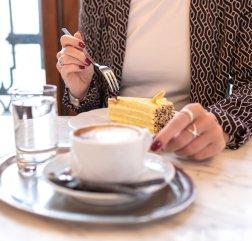 Schlosscafe Belveder Kaffe und Kuchen